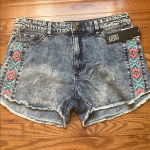 NWT Charlotte Russe High Waist Cut-off Shorts